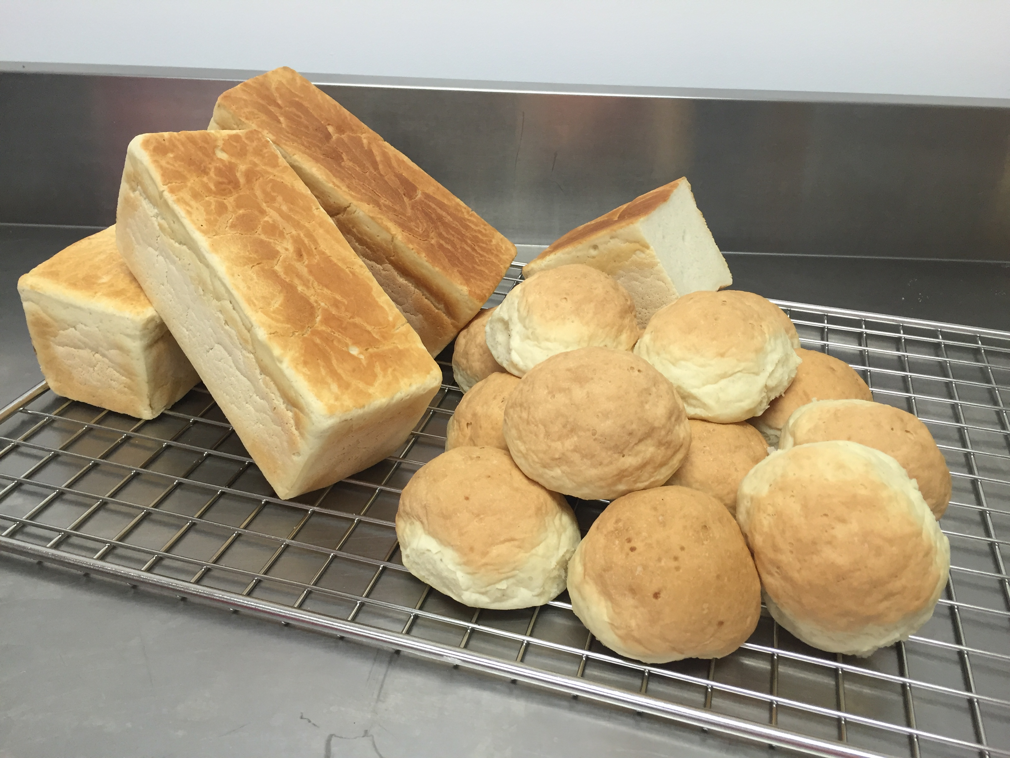 Soft white gluten free bread slices with ease at Artizan Gluten Free Bakery Rockhampton