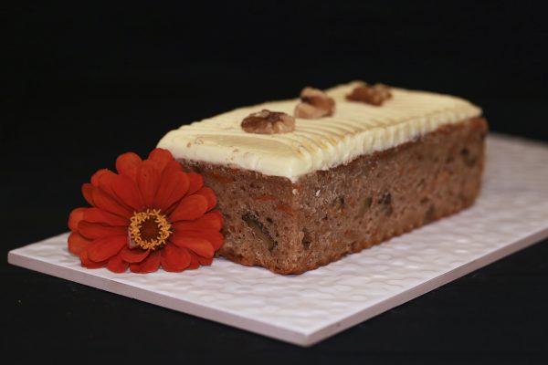 Gluten Free carrot cake, order online for delivery across Australia