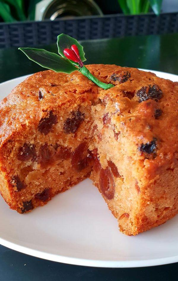 Gluten Free Christmas cake, order online from Artizan Gluten Free Bakery